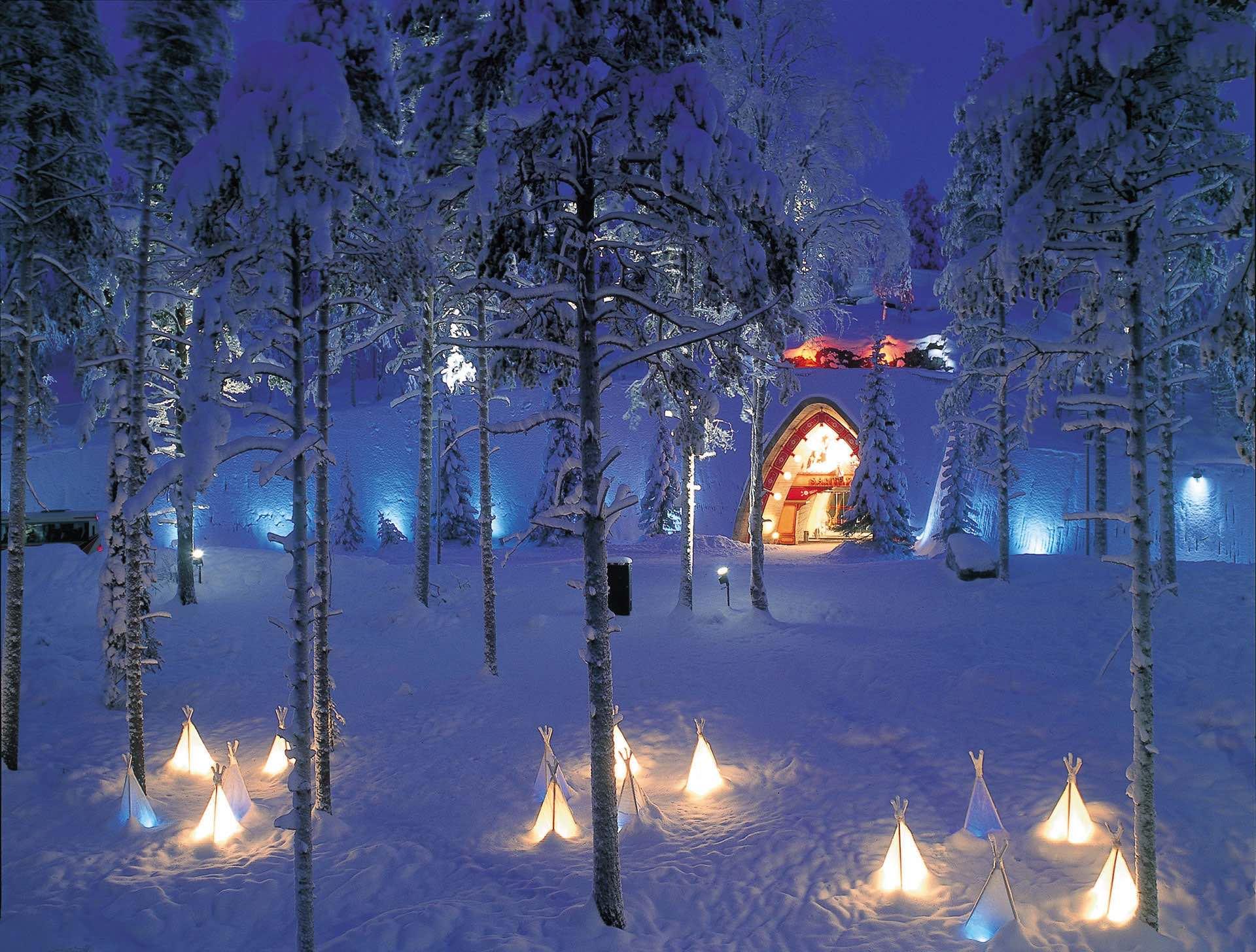 Navidad en Laponia - Guía de Turismo de Finlandia