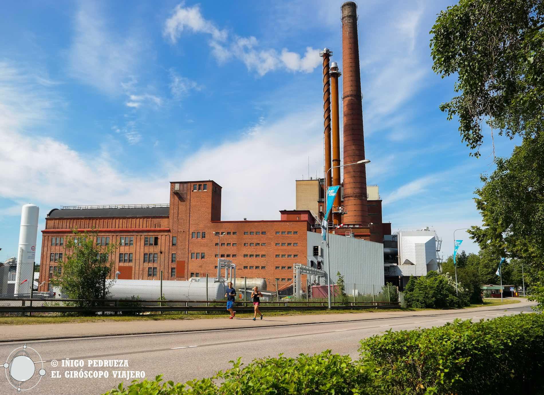 Factoría de papel de Mänttä, la industria ¡el origen del arte!©Iñigo Pedrueza.